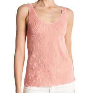 3 for $20 Mildred Ribbed Tank Top Coral Almond Med